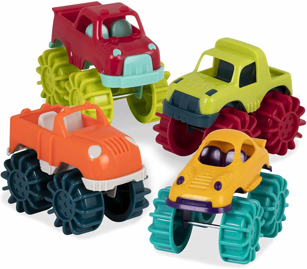 Battat Mini Monster Trucks - Top Toys and Gifts for Three Year Old Boys 2