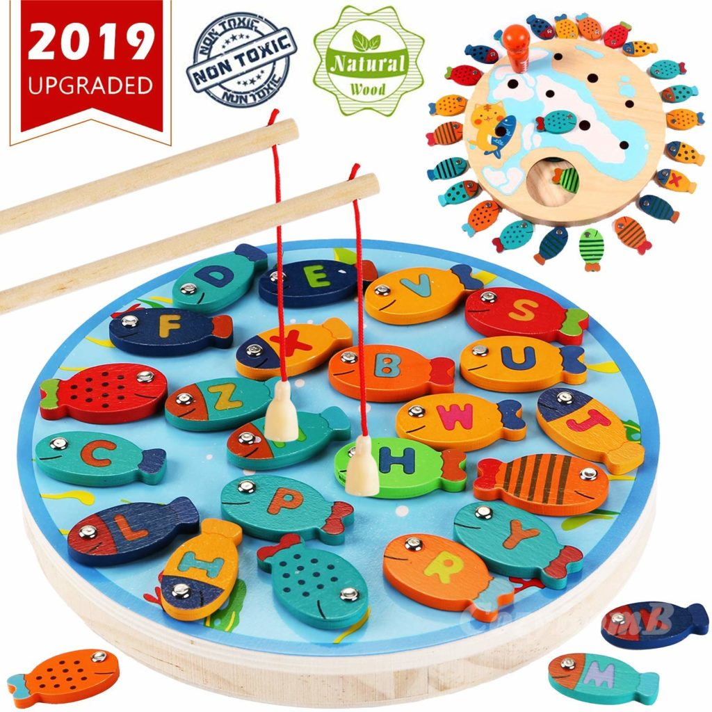 CozyBomb-Magnetic-Wooden-Fishing-Game-Top-Toys-and-Gifts-for-Three-Year-Old-Boys-2
