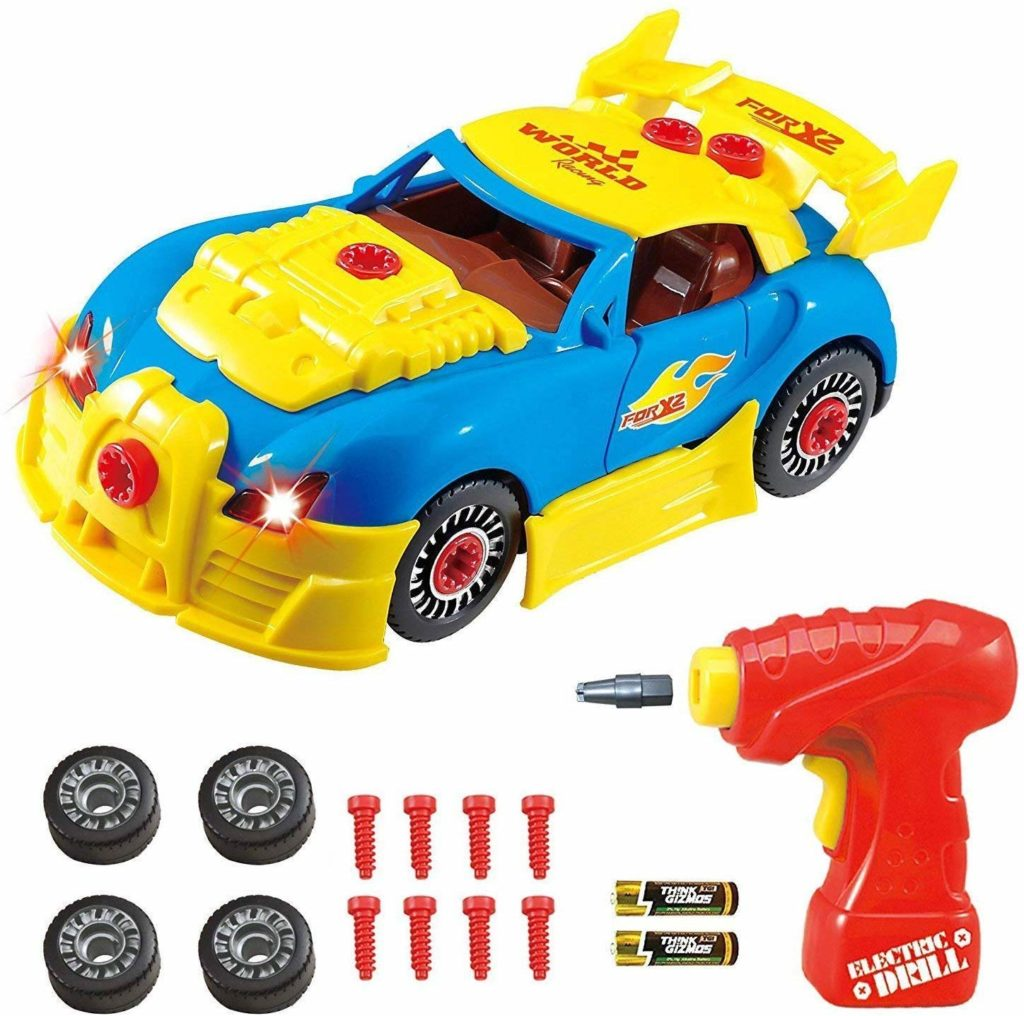 Think Gizmos Take Apart Toy Racing Car - Top Toys and Gifts for Three Year Old Boys 1
