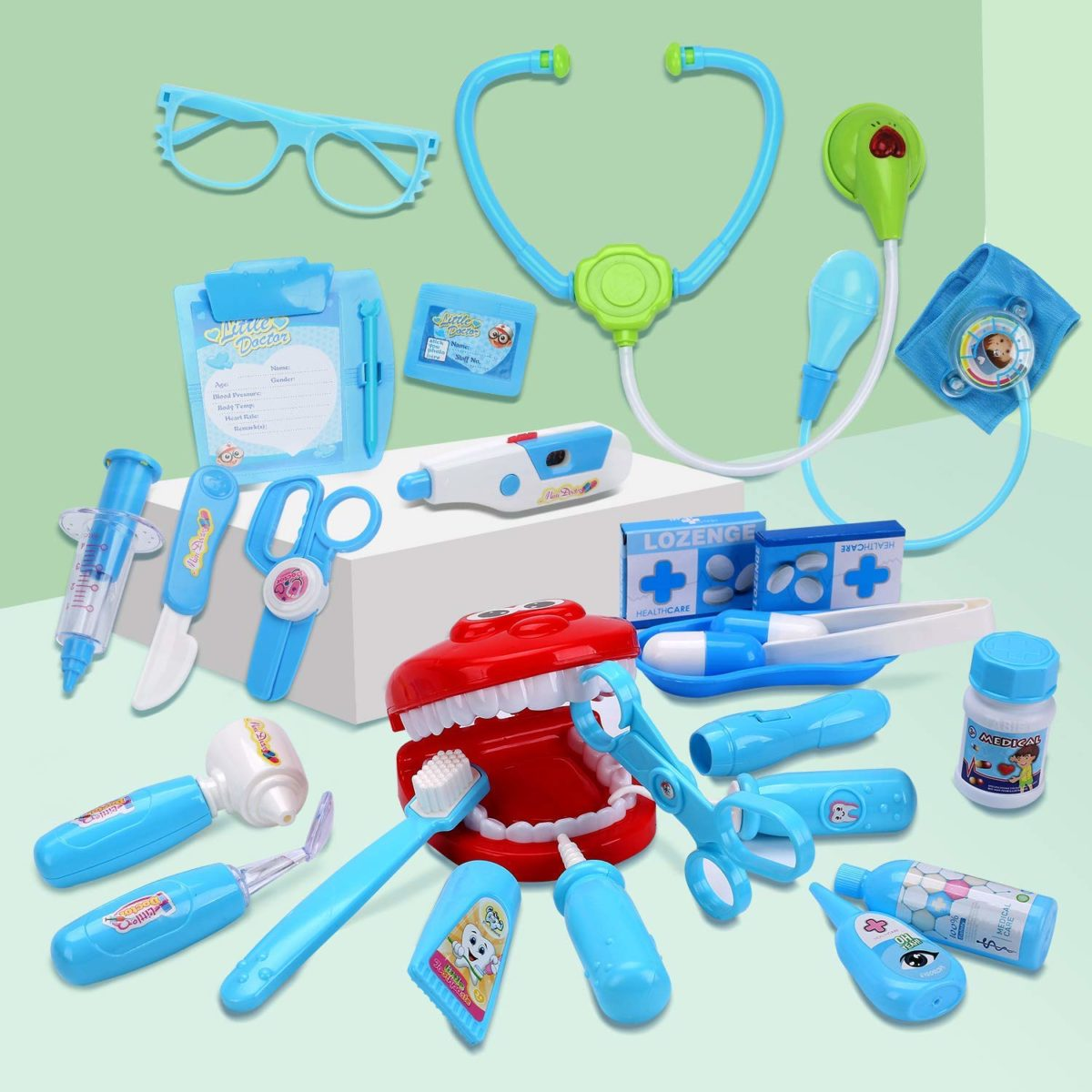 Cute Stone Toy Medical Kit - Top Toys and Gifts for Four Year Old Boys 2