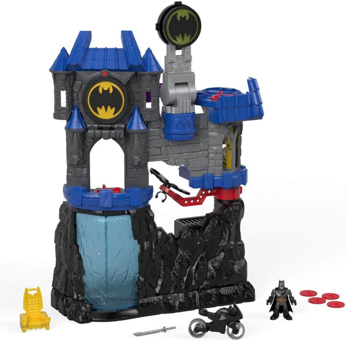 Fisher-Price Imaginext DC Super Friends, Wayne Manor Batcave - Top Toys and Gifts for Four Year Old Boys 1