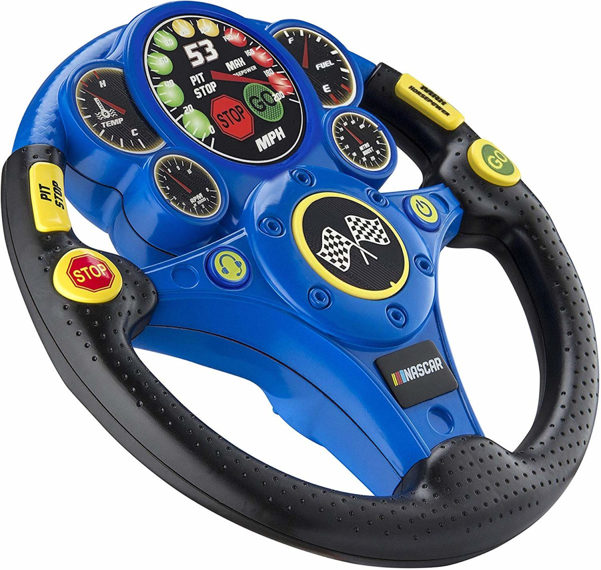 NASCAR Racing Wheel Rev N Go Steering Wheel for Kids - Top Toys and Gifts for Four Year Old Boys 2