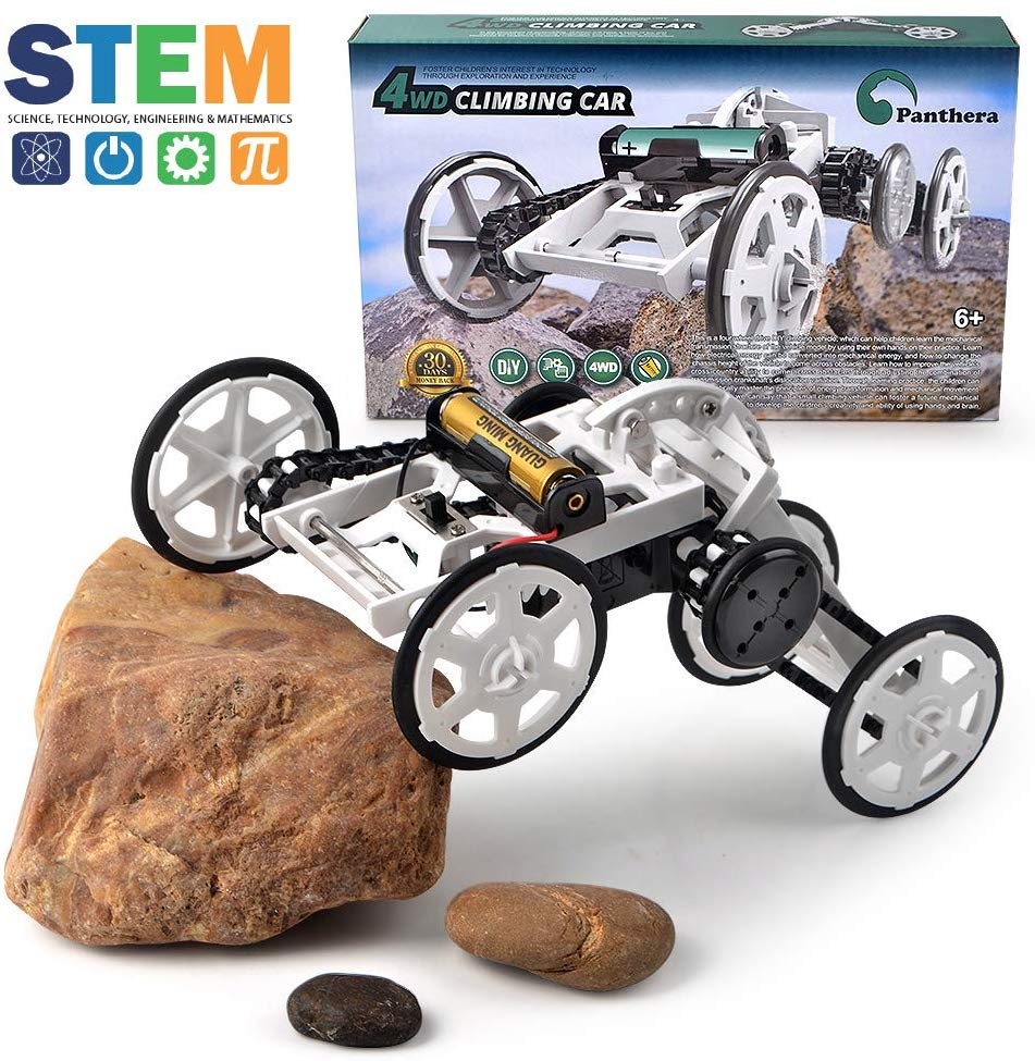 Panthera Science Kit for Kids - 4WD Climbing Car - Top Toys and Gifts for Six Year Old Boys 1