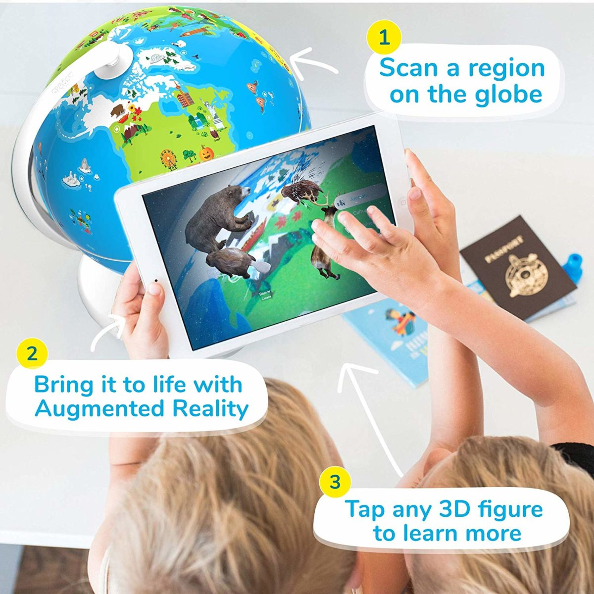 Shifu Orboot Augmented Reality Interactive Globe - Top Toys and Gifts for Six Year Old Boys 2