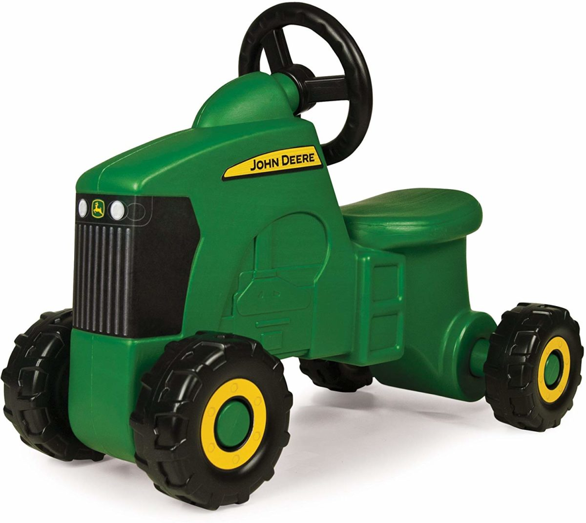 TOMY John Deere Sit-N-Scoot Tractor Toy - Top Toys and Gifts for Four Year Old Boys 1