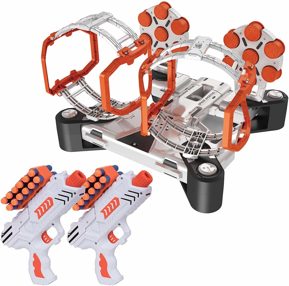 USA Toyz AstroShot Gyro Rotating Target Shooting Games - Top Toys and Gifts for Seven Year Old Boys 1
