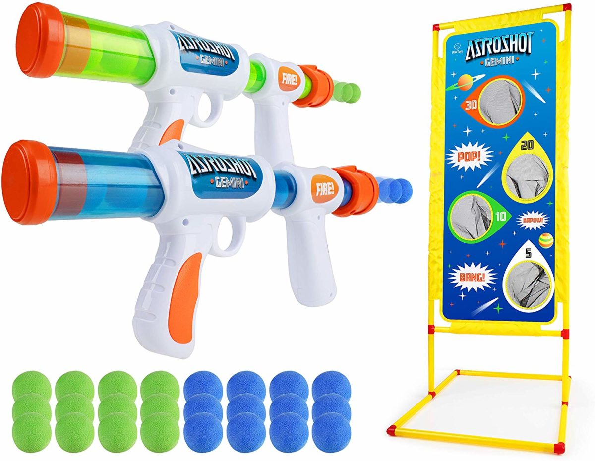 USA Toyz Astroshot Gemini Shooting Games Foam Ball Popper Guns and Targets - Top Toys and Gifts for Seven Year Old Boys 1