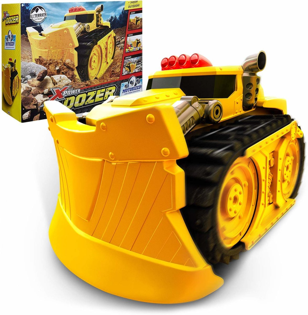 Xtreme Power Dozer Motorized Extreme Bulldozer Toy Truck - Top Toys and Gifts for Six Year Old Boys 1